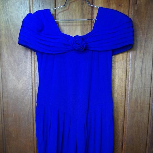 Steven Stoller NY Dresses & Skirts - Steven Stoller NY Front Tie Ribbon Women's Blue